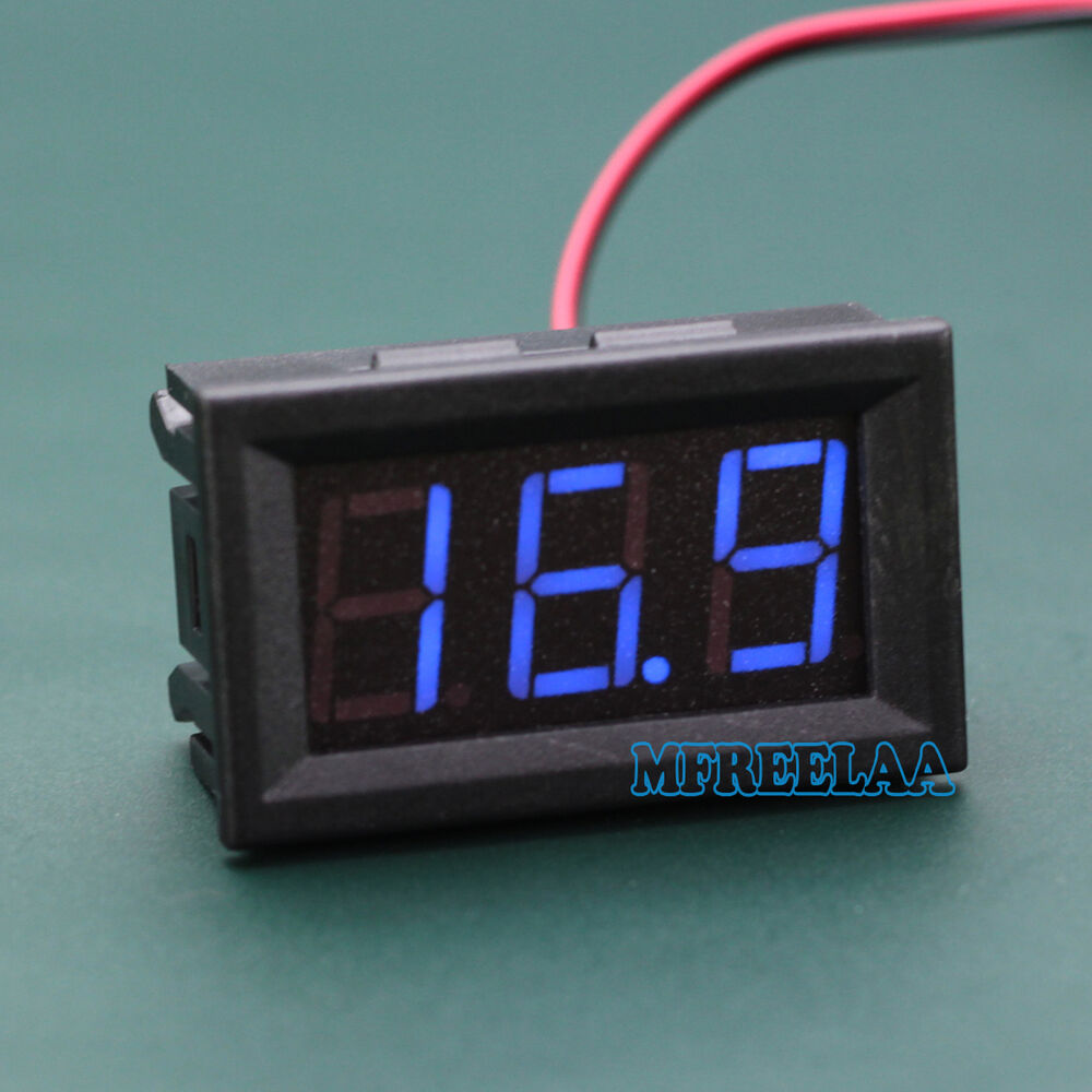 High Impedance Dc Voltmeter