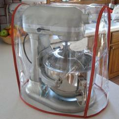 Kitchen Aid Attachments Stainless Steel Outdoor Doors Clear Mixer Cover Fits Kitchenaid Bowl Lift - Red ...