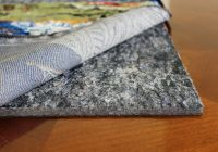Rug Pad Non skid Felt/Rubber Rug mat, Cushioned Rug Pads ...