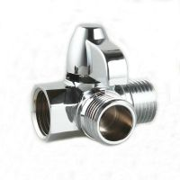 1 Pc Brass Rotatable 3 Way Shower Mixer Valve Diverter for ...