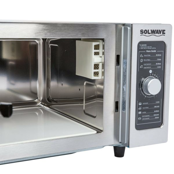 #1 Commercial Microwave Oven 1000 Watt With Dial Control