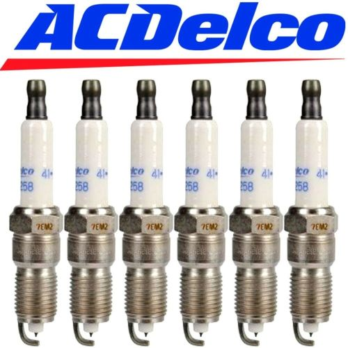 small resolution of details about 6 genuine 41 990 acdelco oem 12597464 set of 6 platinum spark plugs