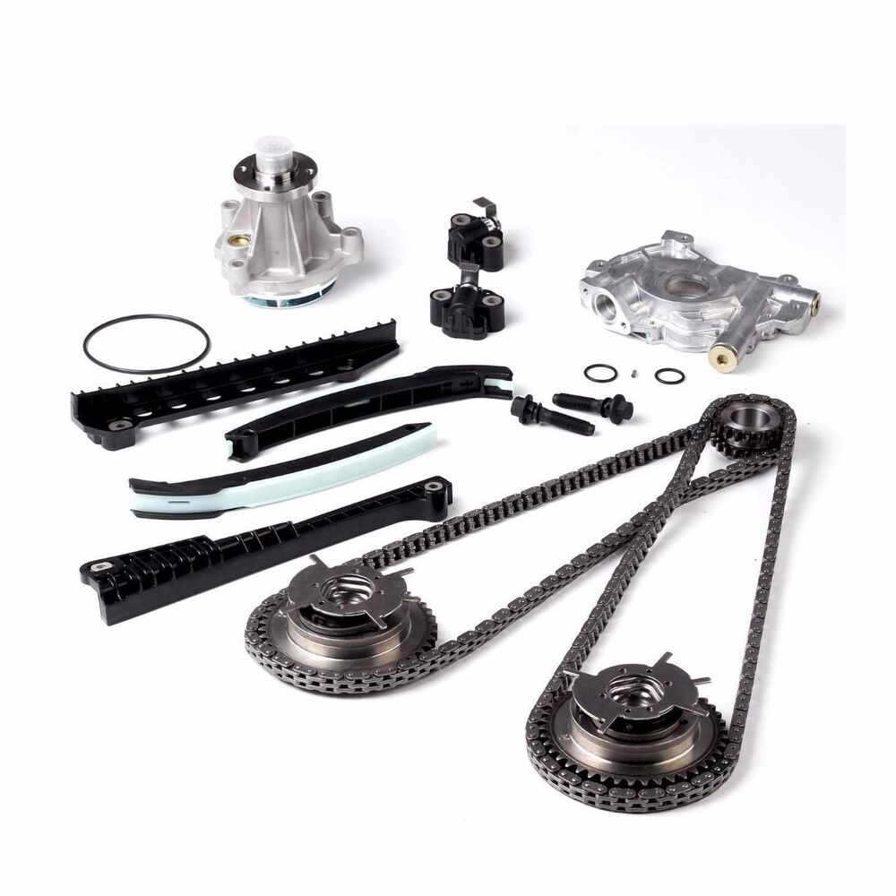 Timing Chain Oil & Water Pump+Cam Phasers 04-08 Fit Ford