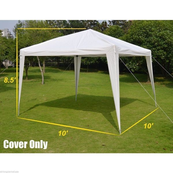 Replacement Pe Top Cover 10' X Pop Canopy Gazebo