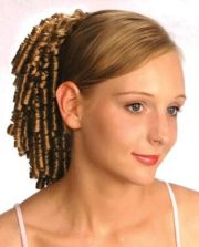 """11"""" small spiral curls curly hair"""