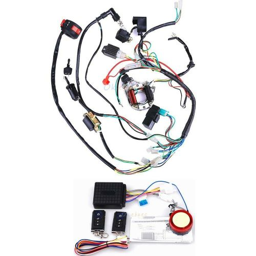 small resolution of details about electrics atv stator 50cc 70 110cc 125cc cdi wiring harness remote start switch