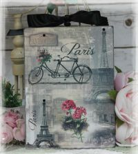 "Vintage ""Paris Paris...""~Shabby Chic~Country Cottage style"
