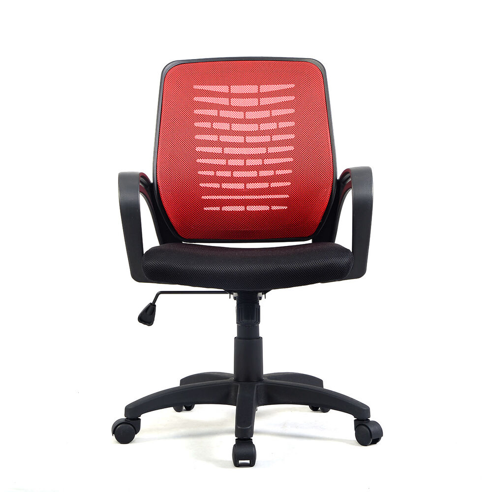 Modern Ergonomic Mesh MidBack Executive Computer Desk