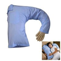 Funny Boyfriend Arm Soft Throw Pillow Body Hug Washable