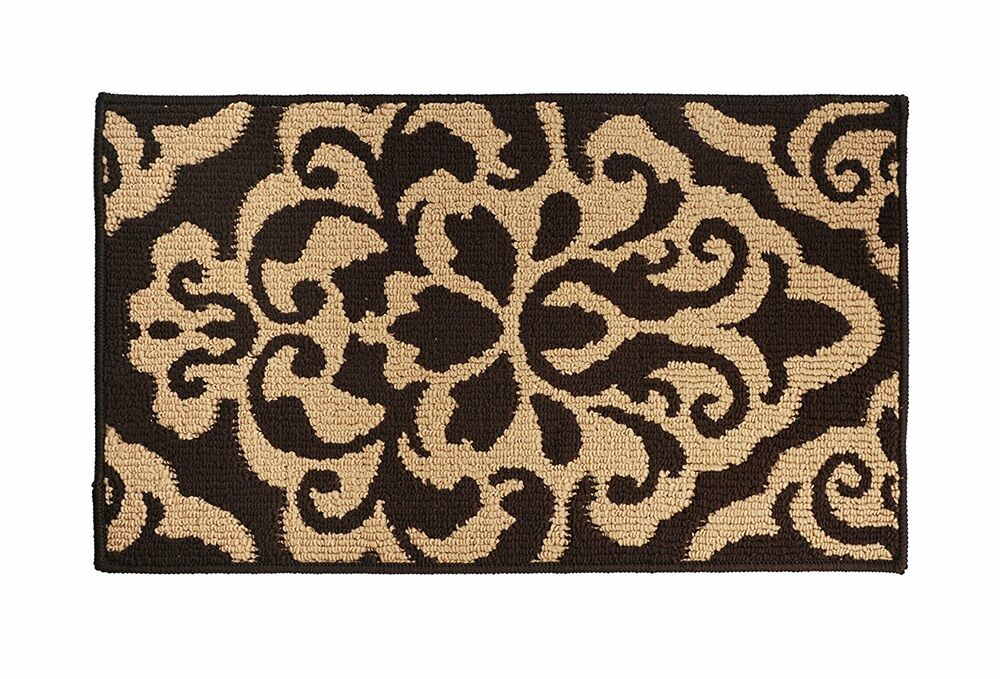 Soft and Durable Microfiber Bathroom Shower Accent Rug 30