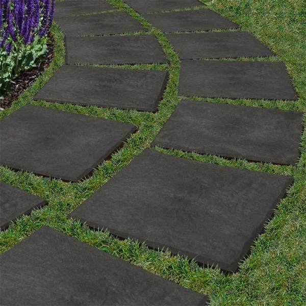 recycled rubber stepping stone