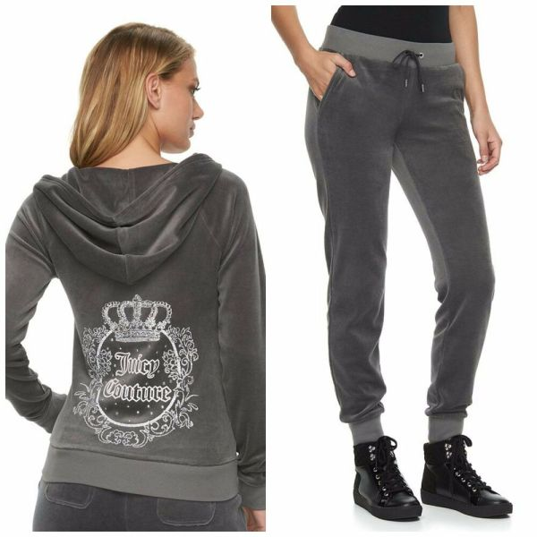 Nwt Juicy Couture Tracksuit Velour Embellished Jacket