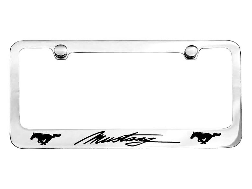 Ford Mustang Number Plate Frame USA Size 1995 1998 2000
