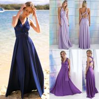 Women Evening Dress Convertible Multi Way Wrap Bridesmaid