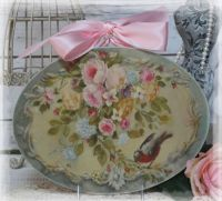 "NEW! ""Roses..."" Vintage~Shabby Chic~Country Cottage style ..."