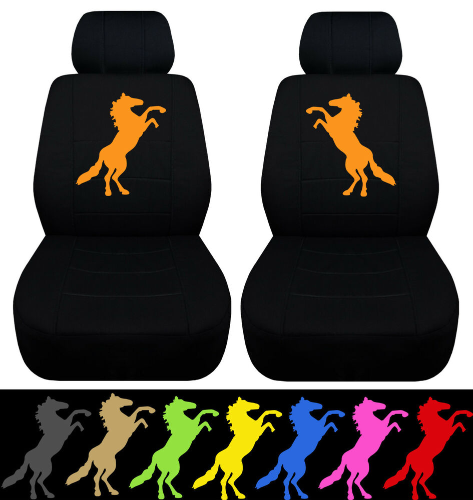 Cc 05 08 Ford Mustang Front Car Seat Covers W Standing