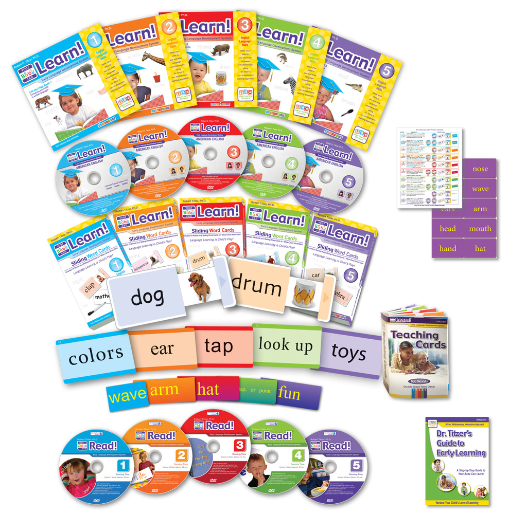 Your My Baby Can Learn Vol 1-5 DVD & Child Can Read DELUXE ...