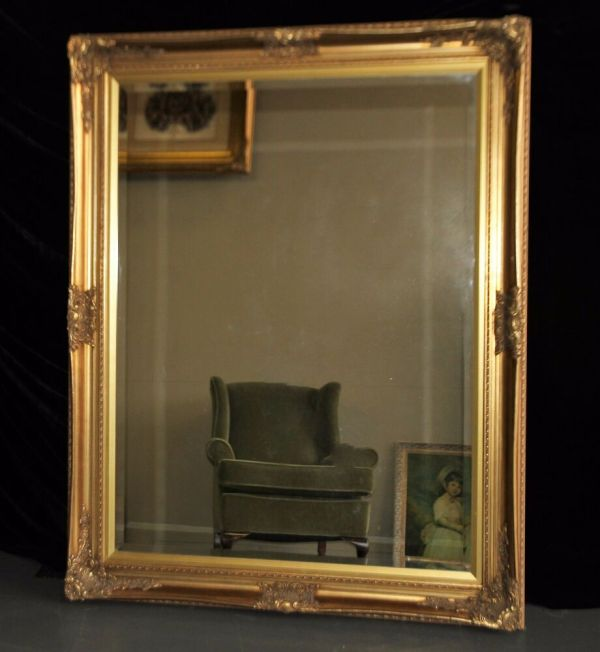 Display - Huge Ornate French Baroque Style Gold Gilt