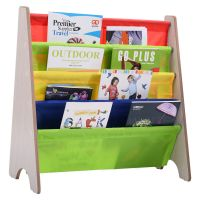 New Kids Book Shelf Sling Storage Rack Organizer Bookcase ...