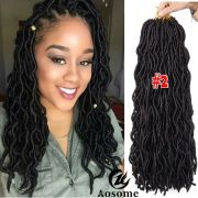 "3 packs 20"" faux locs hair extensions"