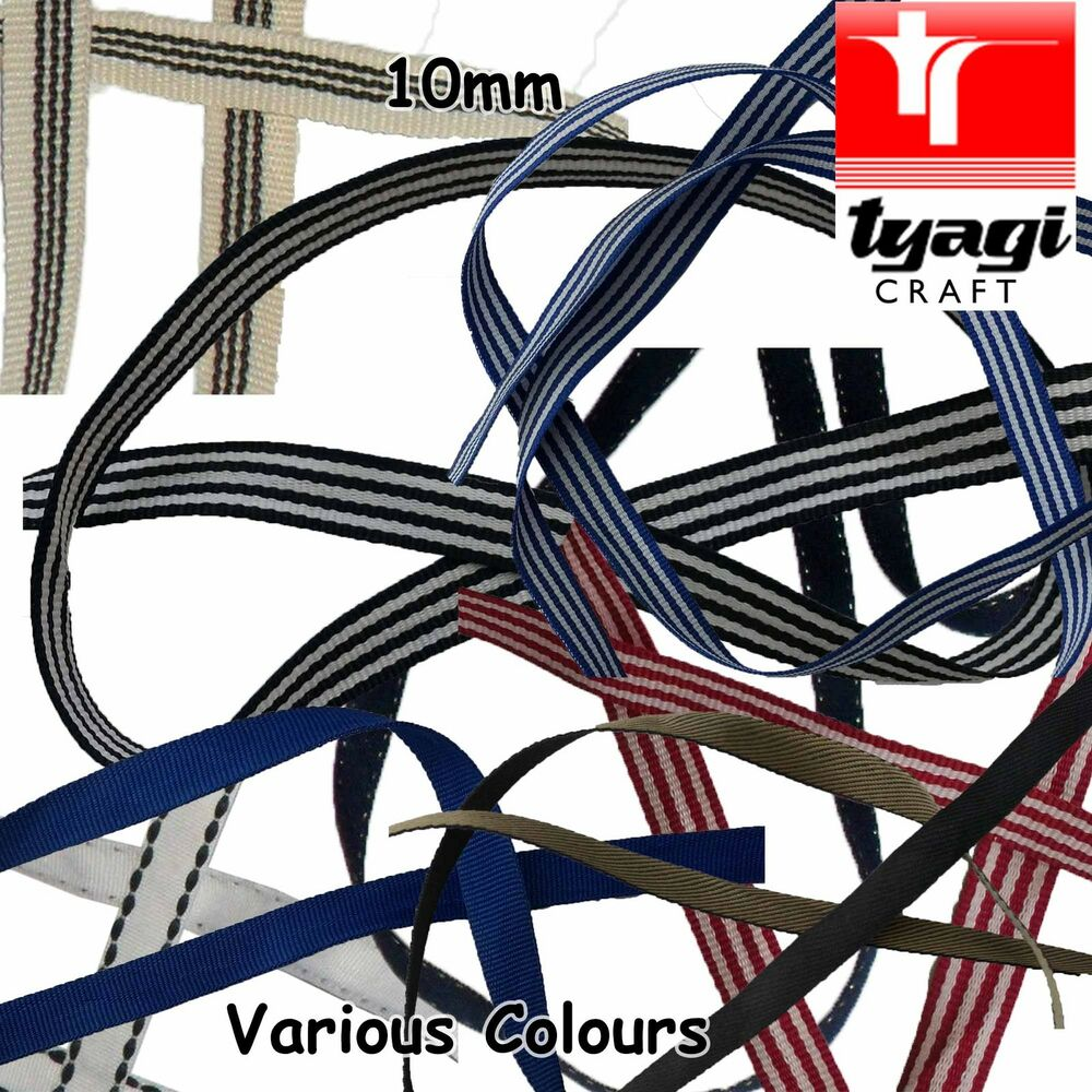 hight resolution of details about 10mm poly cotton id tag strap tape webbing lanyard stitch dressmaking mobile