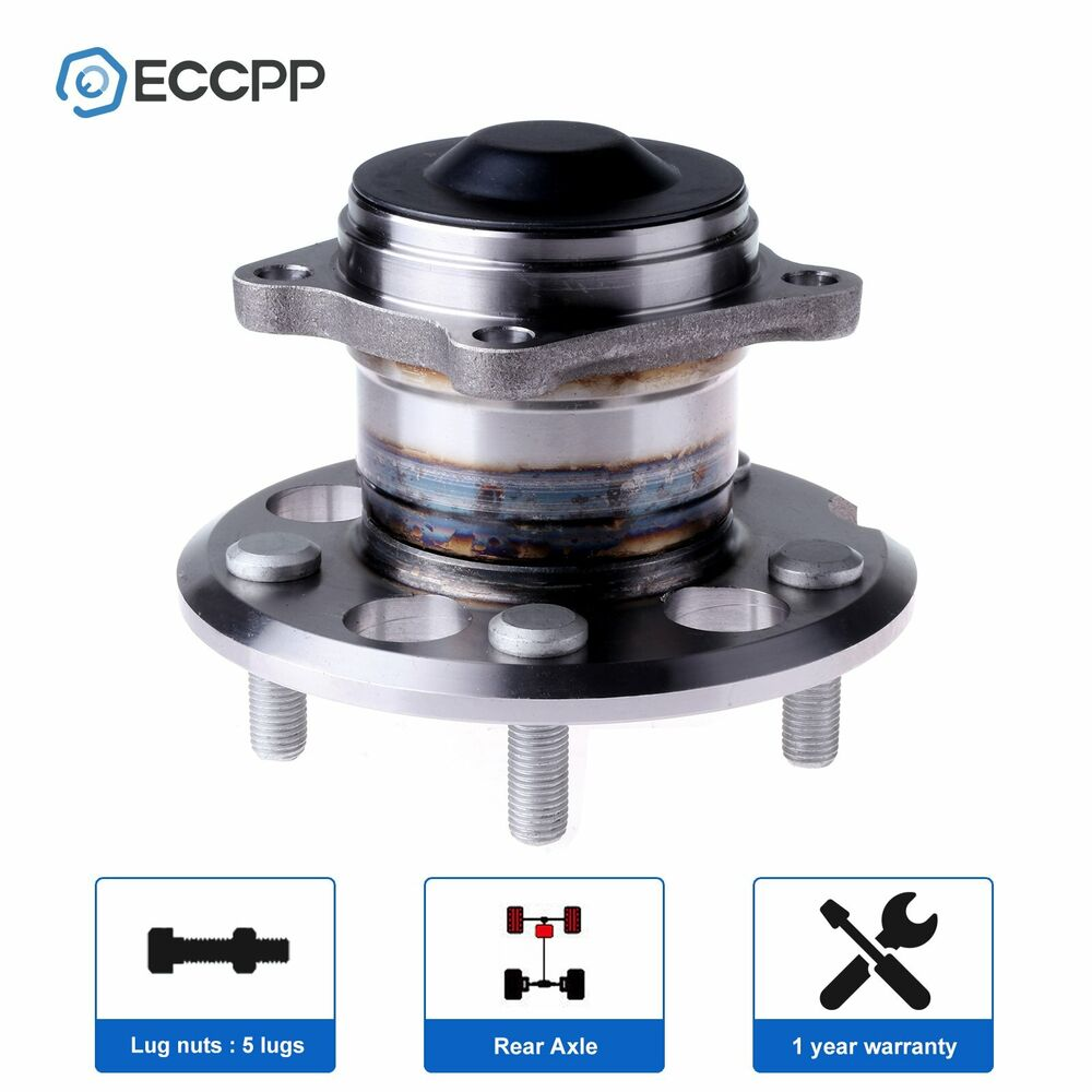 medium resolution of details about rear wheel hub and bearing assembly fits 1996 1997 2003 for toyota rav4 fwd