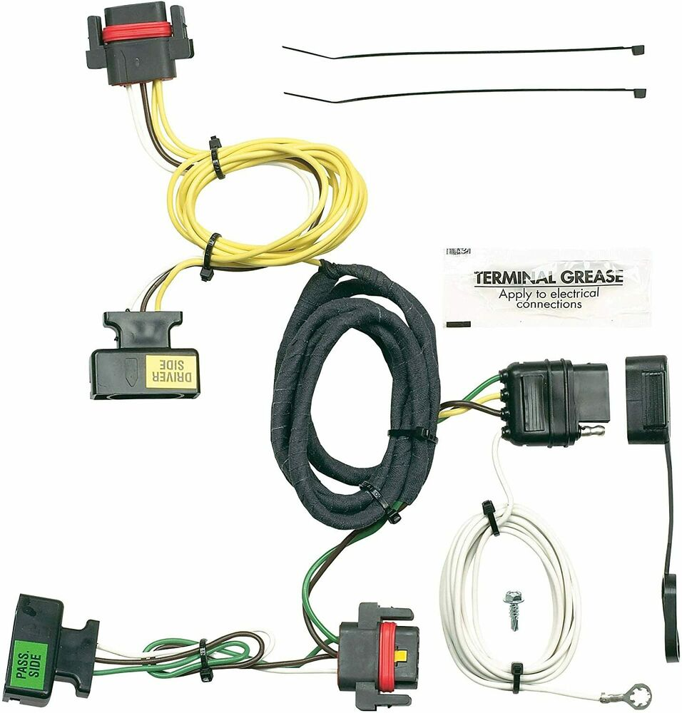 hight resolution of details about trailer wiring harness plug play fits dodge plymouth mitz 42205