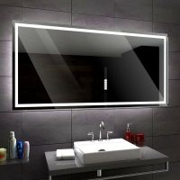 ATLANTA Illuminated Led bathroom mirror Custom Size
