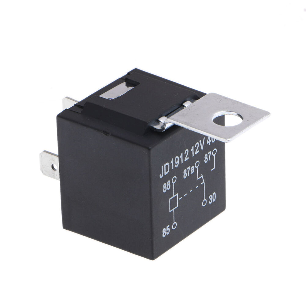 hight resolution of details about waterproof car relay 40a 4pin automotive fuse relay normally open dc 12v