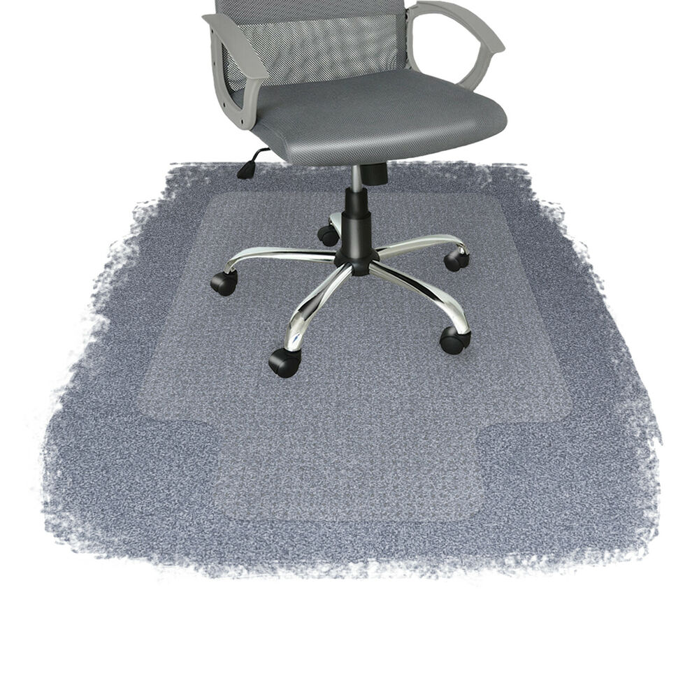 Lip Chair Polycarbonate Office Chair Mat Lip Carpet Floor Protector Pvc Plastic Free Ebay