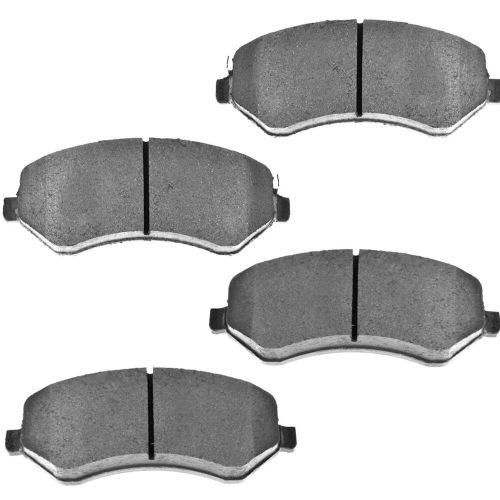 small resolution of details about front brake pads for dodge fits jeep semi metallic caravan grand caravan liberty