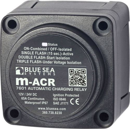 small resolution of details about blue sea 7601 marine vsr acr automatic charge relay 65 a 12v 24v dc dual battery