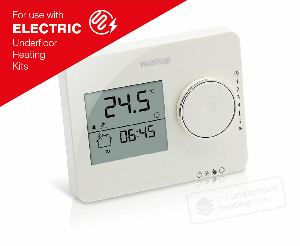 medium resolution of details about warmup tempo thermostat porcelain white
