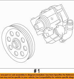details about ford oem 11 16 f 350 super duty power steering pump bc3z3a696c [ 1000 x 906 Pixel ]