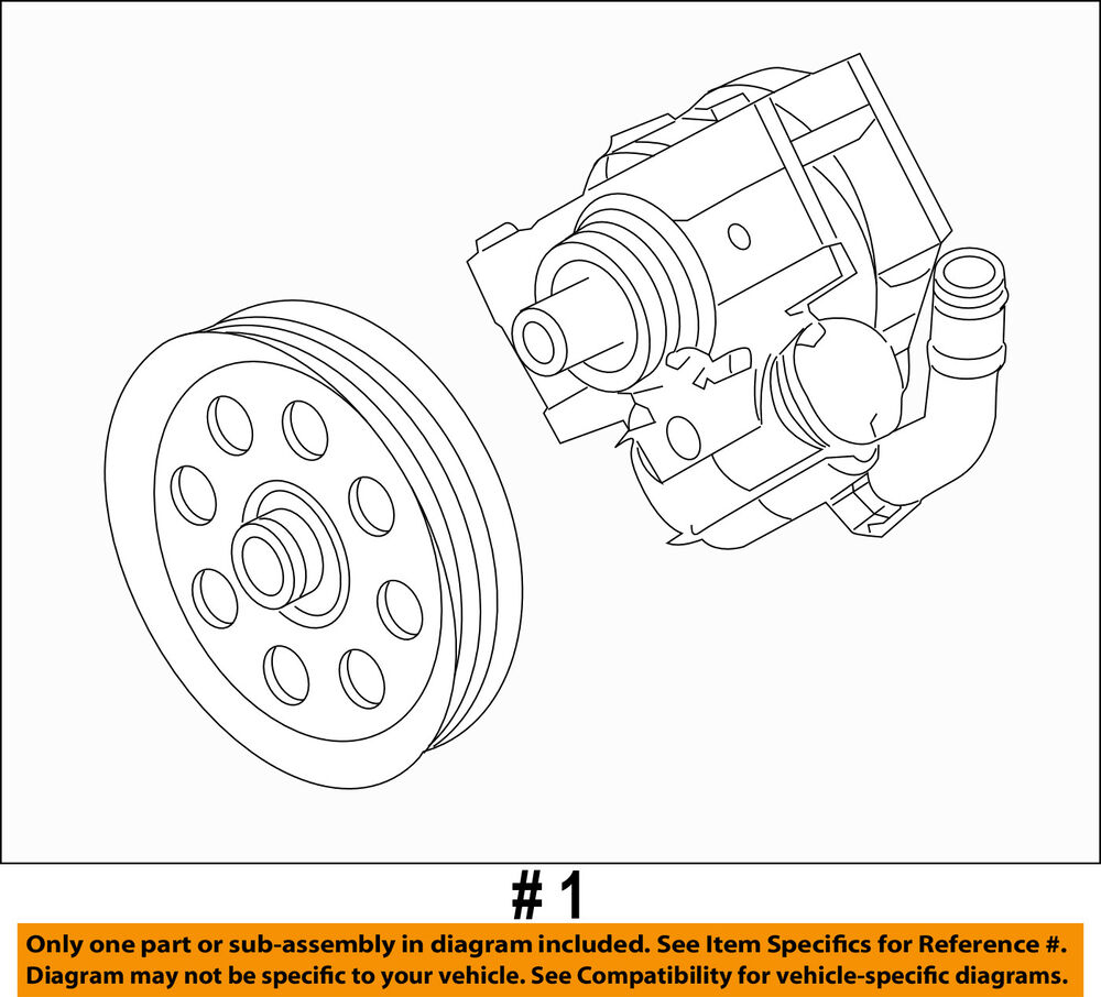 medium resolution of details about ford oem 11 16 f 350 super duty power steering pump bc3z3a696c