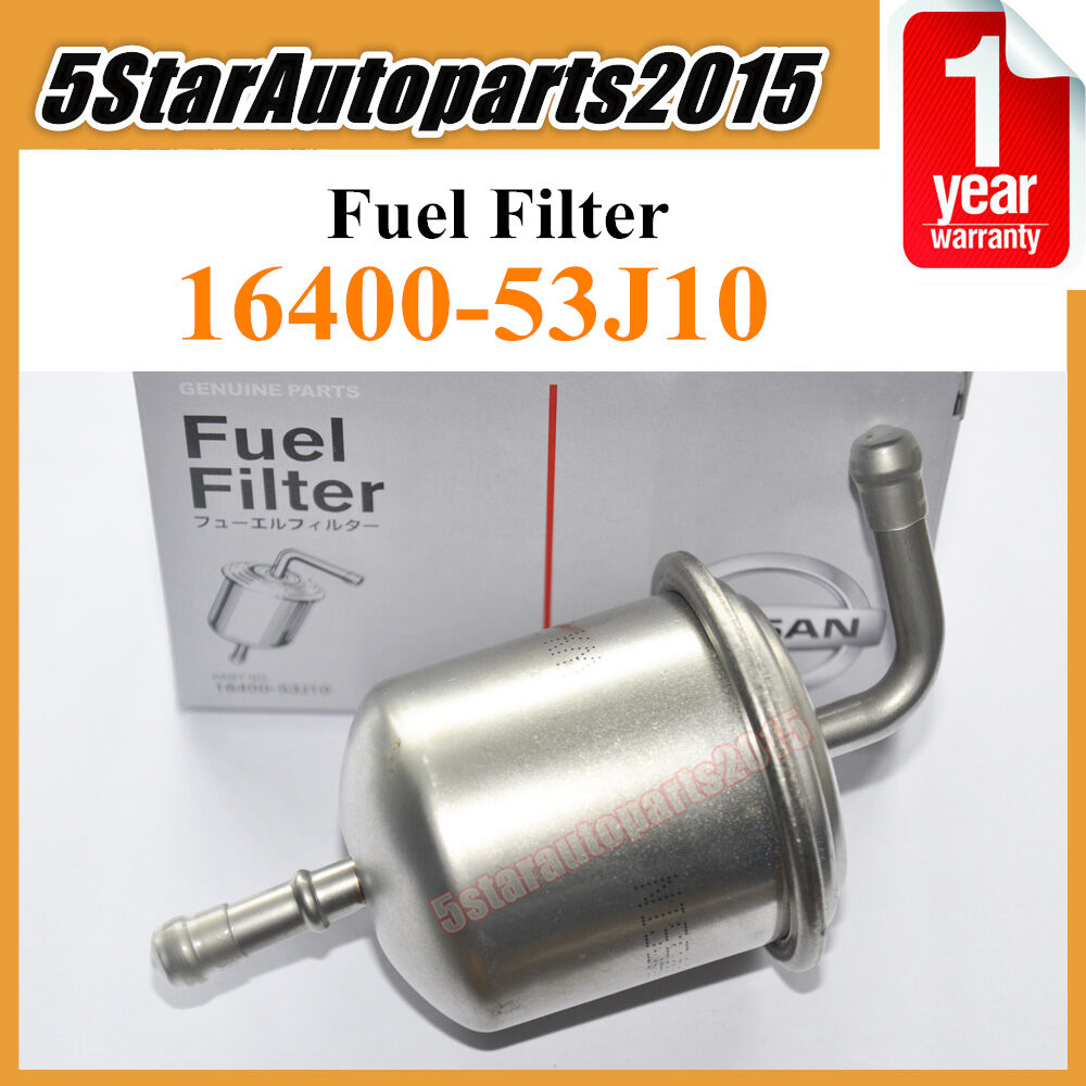 medium resolution of details about new fuel filter 16400 53j10 for nissan altima pickup stanza 2 4 infiniti j30 3 0