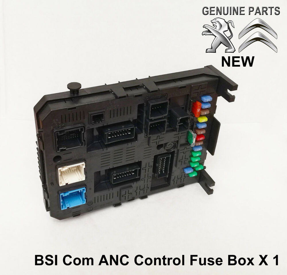 hight resolution of citroen berlingo c4 picasso c5 c6 anc bsi fuse box module