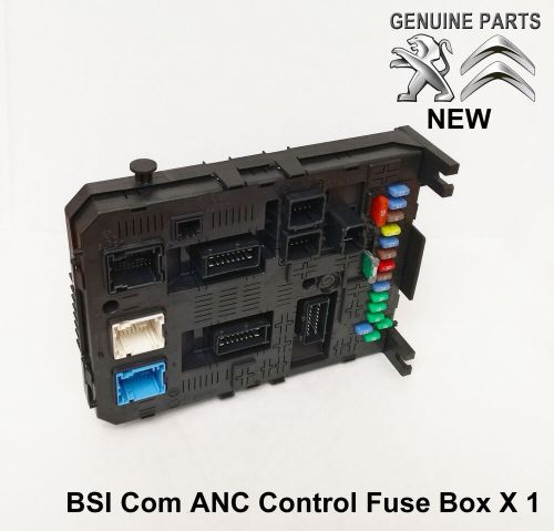 small resolution of citroen berlingo c4 picasso c5 c6 anc bsi fuse box module