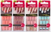 kiss impress gel press- nails