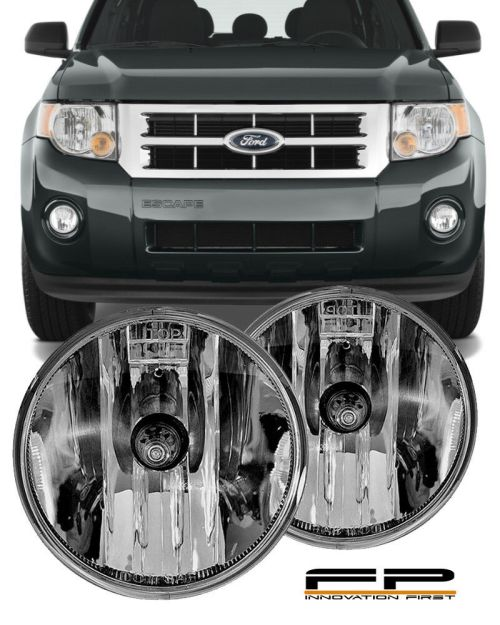small resolution of details about 07 08 09 10 11 12 ford escape clear replacement fog light housing assembly pair