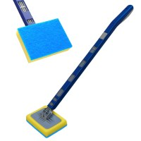 EXTENDING WINDOW & TILE CLEANING TOOL TELESCOPIC BATHROOM ...