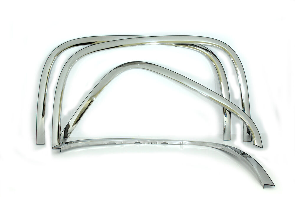 2007-2013 SILVERADO TRUCK CHROME WHEEL FENDER FLARE