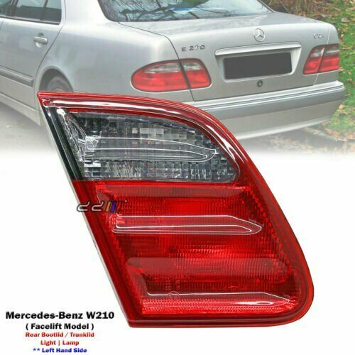 medium resolution of details about new left trunk lid tail light lamp for mercedes benz w210 e320 e430 e55 2000 02