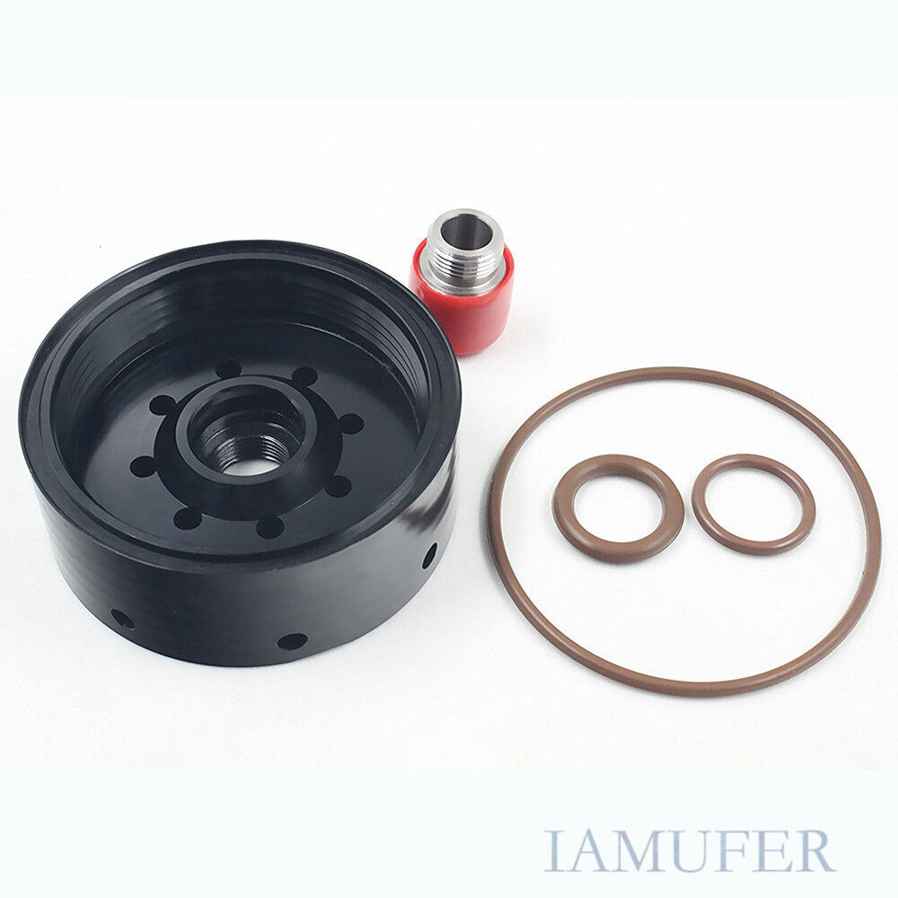 medium resolution of details about black cat fuel filter adapter for duramax lb7 lly lbz lmm lml chevy gmc diesel
