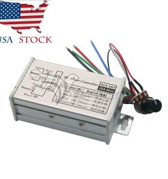 pwm dc motor stepless variable speed controller switch 12v 24v max 20a us ebay [ 1000 x 1000 Pixel ]