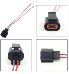 details about japanese car parking signal extension wiring harness loom 2 pin connector [ 1000 x 1000 Pixel ]
