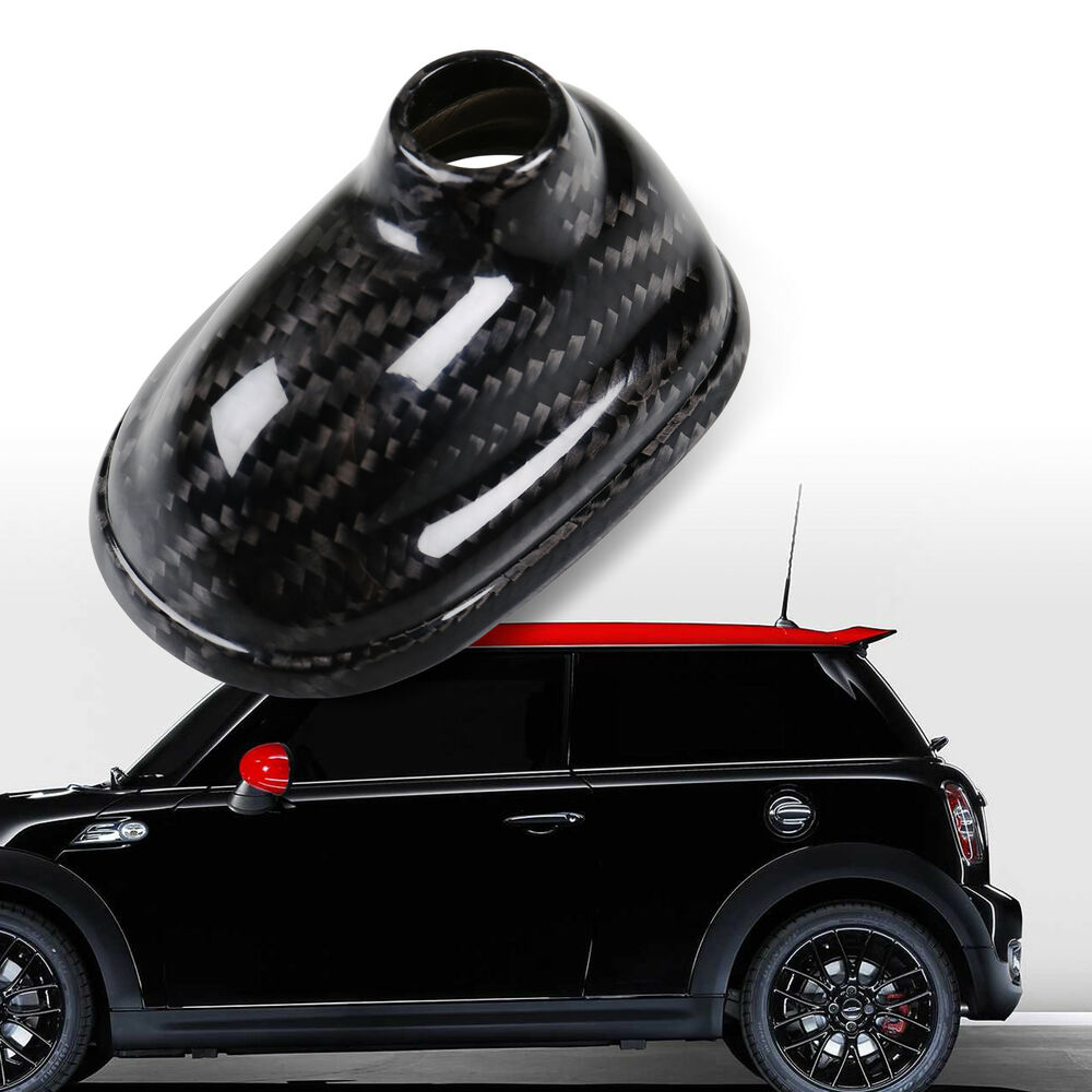 hight resolution of details about real carbon antenna base cover for mini cooper r55 r56 r57 no gps model