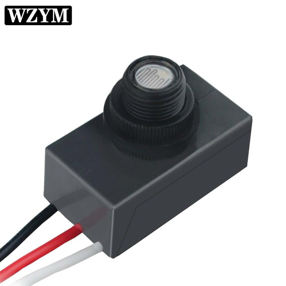 hight resolution of details about photocell dusk to dawn flush mount button photo control eye 120v 277v waterproof