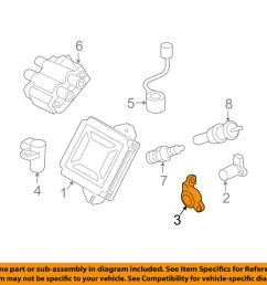 details about subaru oem 98 13 forester 2 5l h4 ignition camshaft sensor holder 22066aa041 [ 1000 x 798 Pixel ]