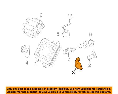 small resolution of details about subaru oem 98 13 forester 2 5l h4 ignition camshaft sensor holder 22066aa041